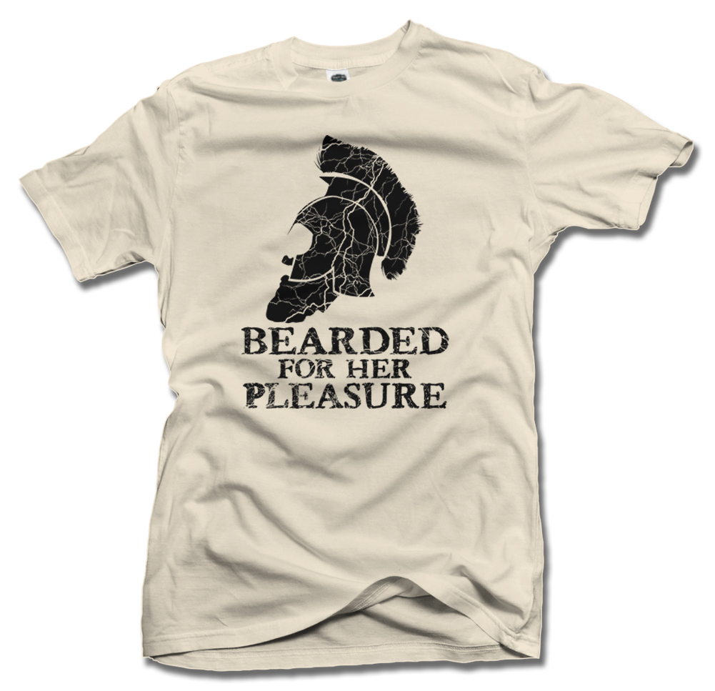 TROJAN BEARDED FOR HER PLEASURE Model