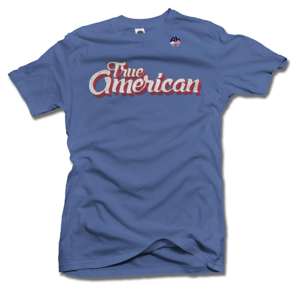 True American Patriotic Tank or Shirt Model