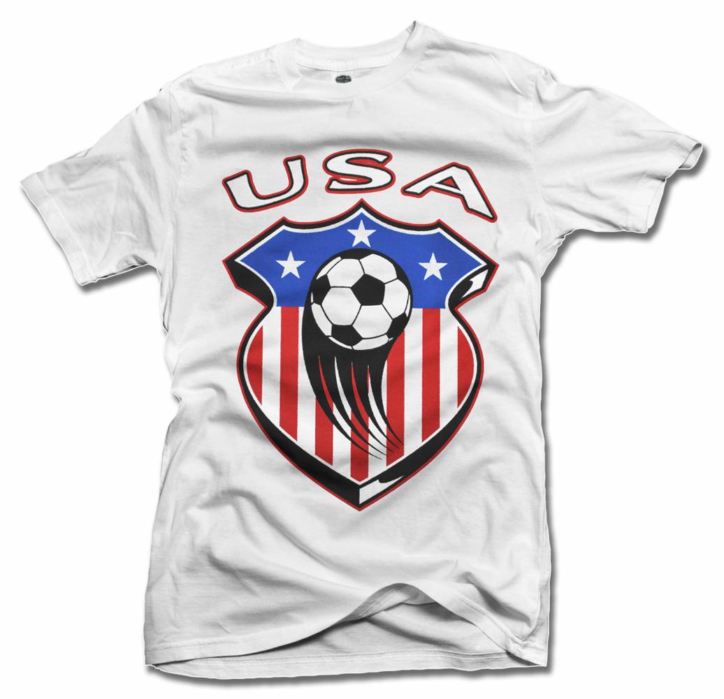 USA SHIELD SOCCER T-SHIRT Model