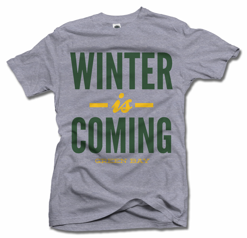 WINTER IS COMING GREEN BAY FOOTBALL Model