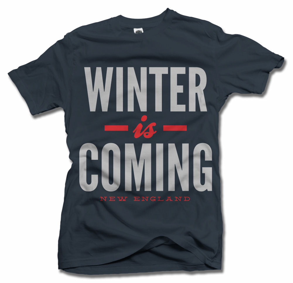 WINTER IS COMING NEW ENGLAND FOOTBALL Model