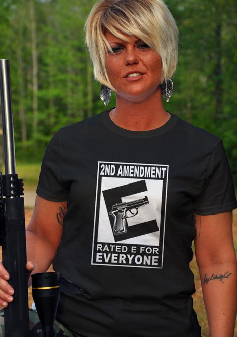 2ND AMENDMENT RATED E FOR EVERYONE Model