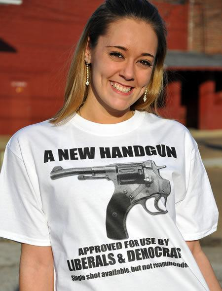 A NEW HANDGUN FOR LIBERALS Model