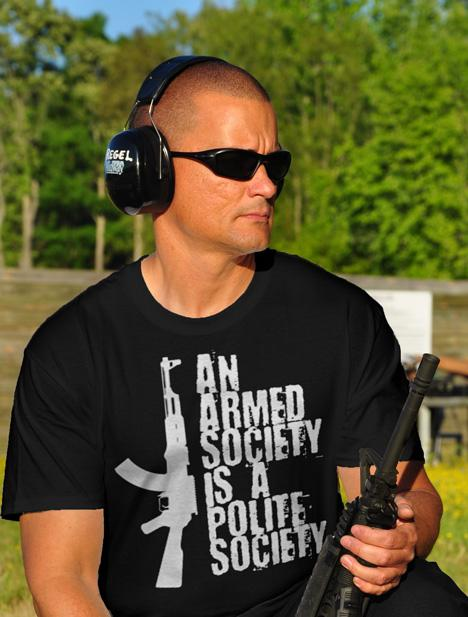 AN ARMED SOCIETY IS A POLITE SOCIETY AK-47 Model