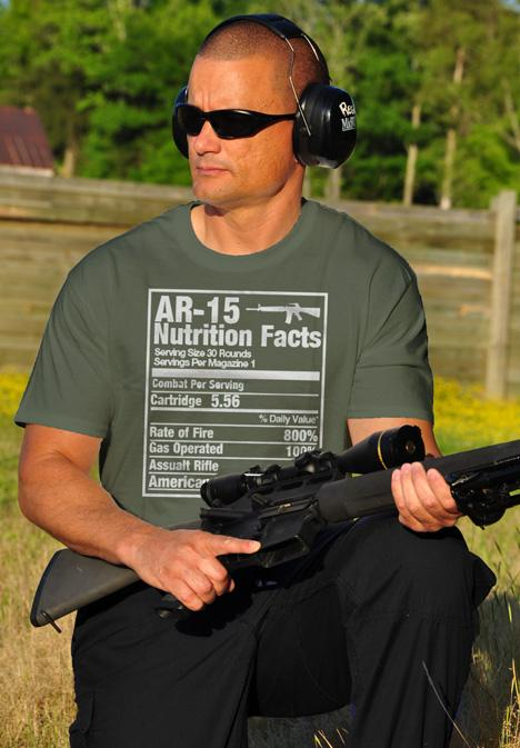 AR-15 NUTRITION FACTS Model
