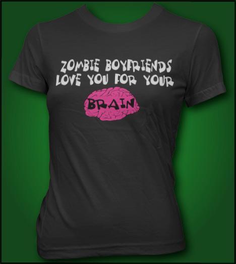ZOMBIE BOYFRIENDS LOVE YOU FOR YOUR BRAIN Model