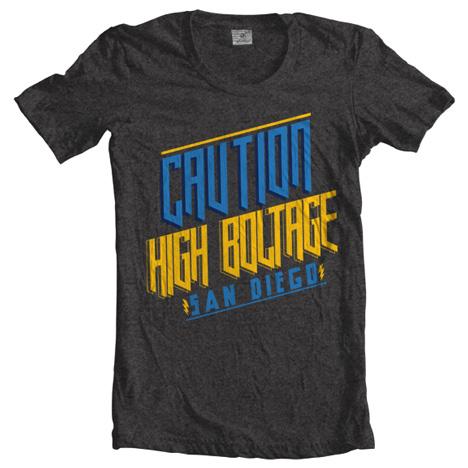 CAUTION HIGH BOLTAGE Model