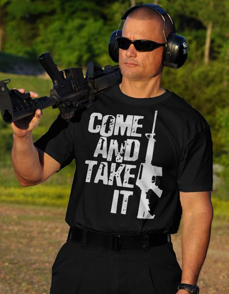COME AND TAKE IT AR-15 Model