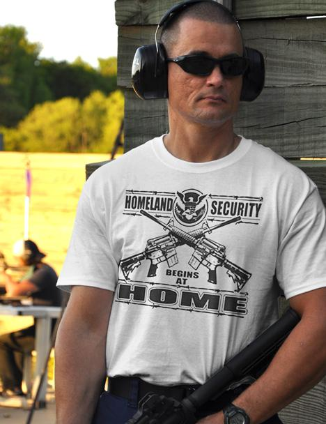 HOMELAND SECURITY BEGINS AT HOME Model