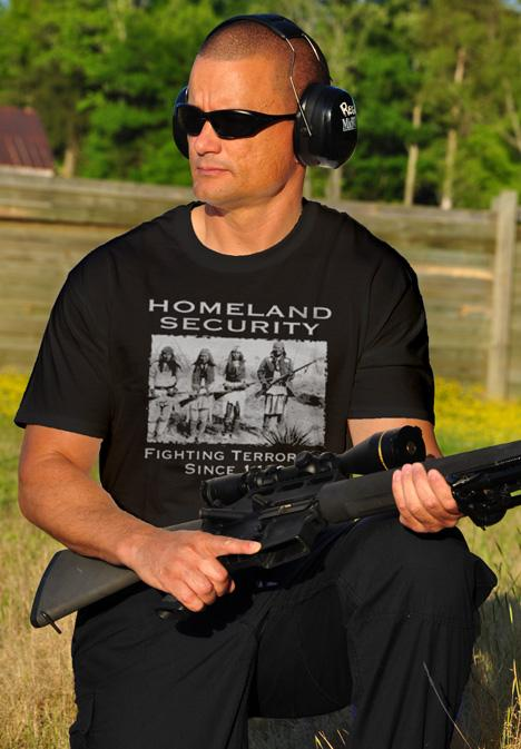 HOMELAND SECURITY FIGHTING TERRORISM SINCE 1492 Model