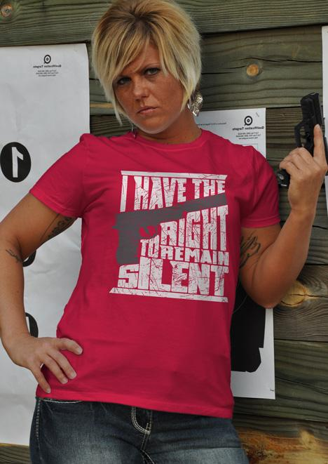 I HAVE THE RIGHT TO REMAIN SILENT Model
