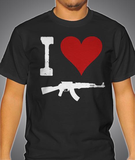 I HEART AK-47 Model