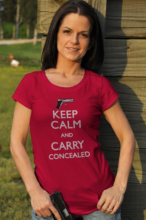 KEEP CALM AND CARRY CONCEALED Model