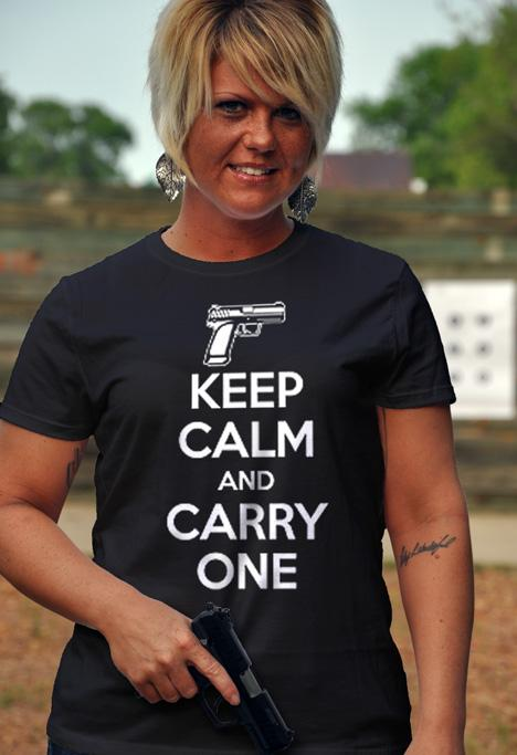 KEEP CALM AND CARRY ONE Model