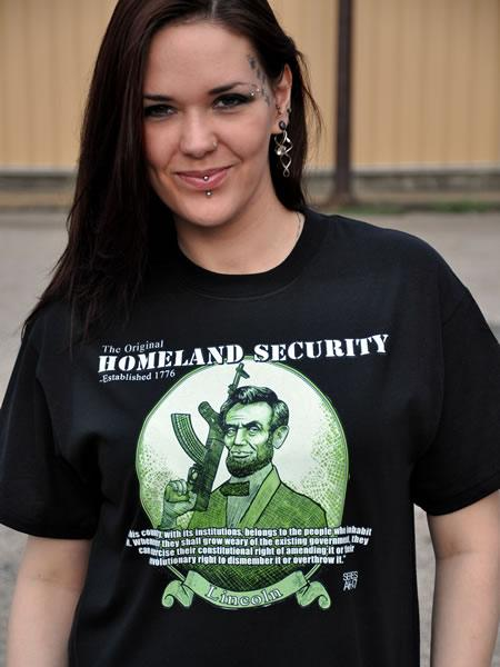 THE ORIGINAL HOMELAND SECURITY ABRAHAM LINCOLN Model