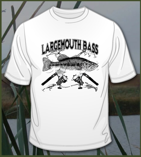 LARGEMOUTH BASS AND REELS Model