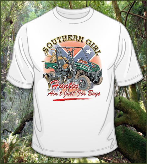SOUTHERN GIRL HUNTIN' AIN'T JUST FOR BOYS Model