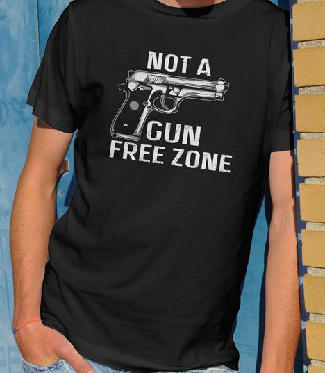 NOT A GUN FREE ZONE HANDGUN Model