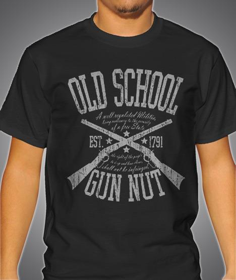 OLD SCHOOL GUN NUT Model