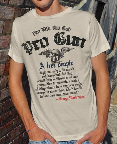 PRO LIFE PRO GOD PRO GUN Model