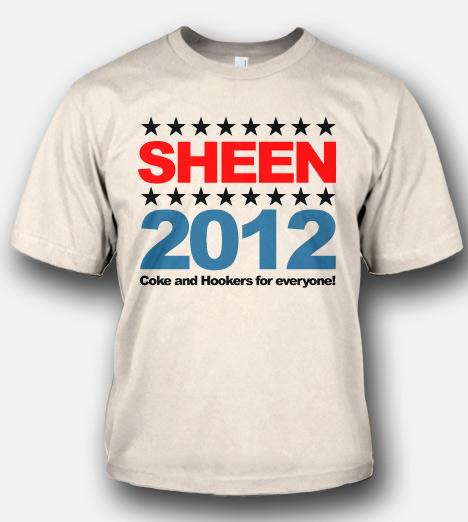 SHEEN 2012 COKE AND HOOKERS FOR EVERYONE Model
