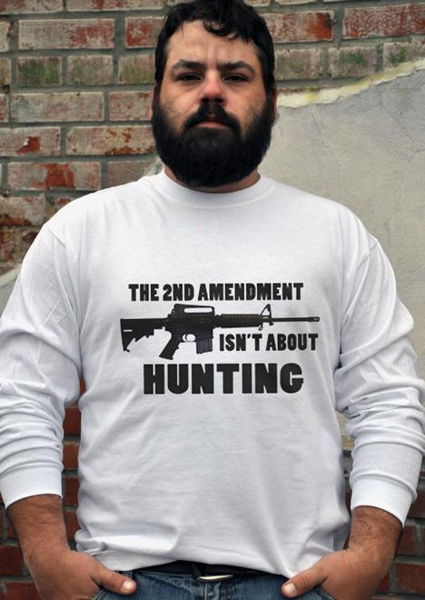 THE 2ND AMENDMENT ISN'T ABOUT HUNTING Model
