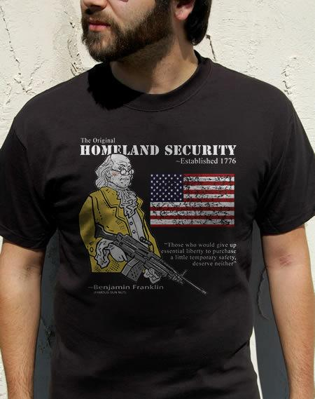THE ORIGINAL HOMELAND SECURITY BEN FRANKLIN Model