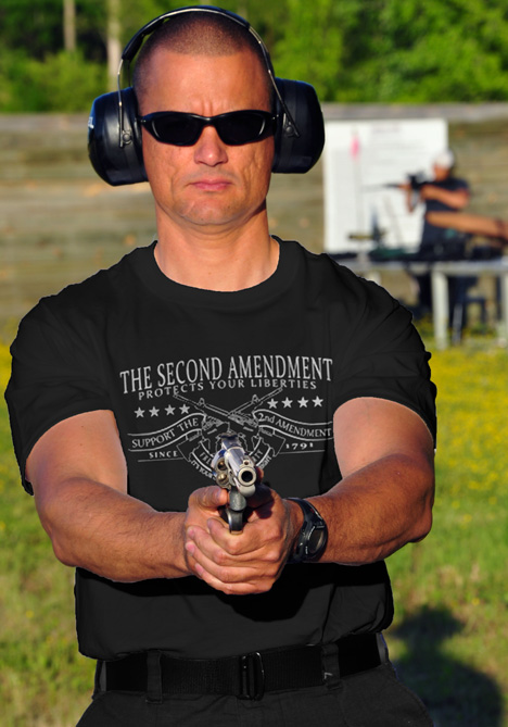 THE SECOND AMENDMENT PROTECTS YOUR LIBERTIES Model