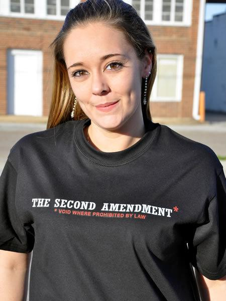 THE SECOND AMENDMENT VOID WHERE PROHIBITED BY LAW Model