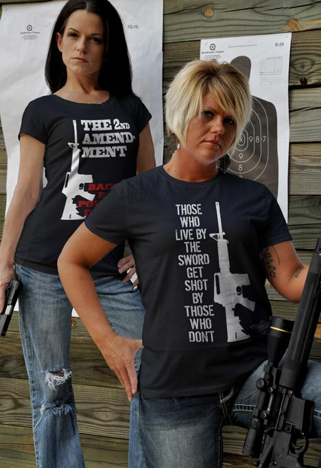 THOSE WHO LIVE BY THE SWORD GET SHOT BY THOSE WHO DON'T AR-15 Model