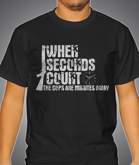 WHEN SECONDS COUNT COPS ARE MINUTES AWAY Model