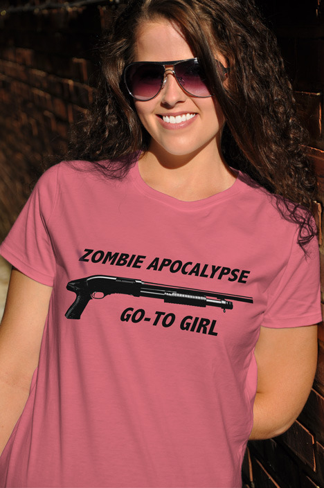 ZOMBIE APOCALYPSE GO-TO GIRL Model