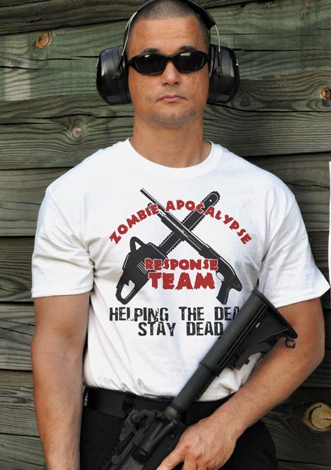 ZOMBIE APOCALYPSE RESPONSE TEAM HELPING THE DEAD STAY DEAD Model