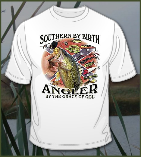 SOUTHERN BY BIRTH ANGLER BY THE GRACE OF GOD Model