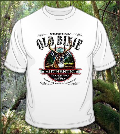OLD DIXIE AUTHENTIC CLOTHING DEER Model