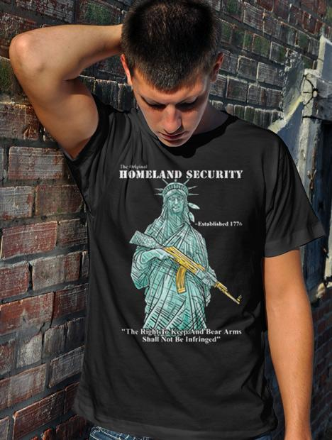 THE ORIGINAL HOMELAND SECURITY STATUE OF LIBERTY Model