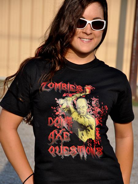 ZOMBIES DON'T AXE QUESTIONS Model
