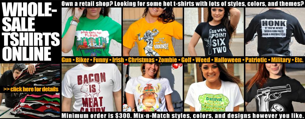 Wholesale T-Shirts Online